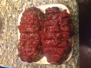 meatloaf cooked